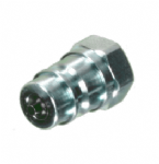 1/2 BSP ISO A QUICK RELEASE COUPLING (PROBE) MALE